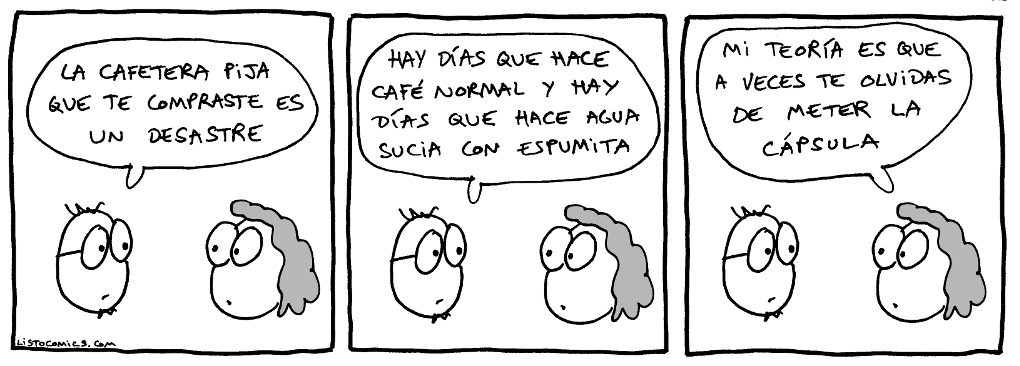 1313. Cafetera
