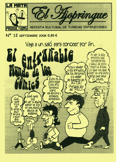 Fanzine El Ajopringue 12
