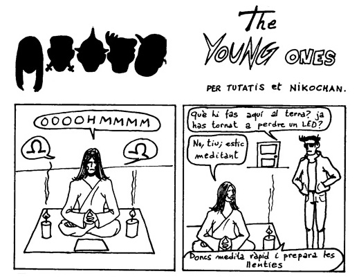 Els joves telecos: Theleco Young Ones