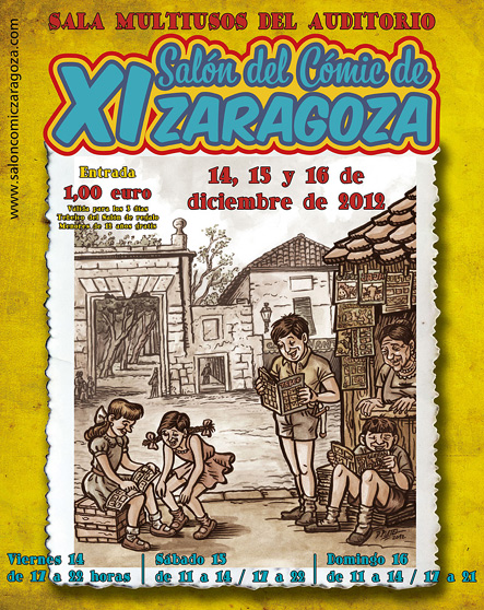 Salon del Cómic de Zaragoza 2012