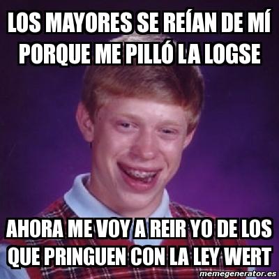 Meme LOMCE.
